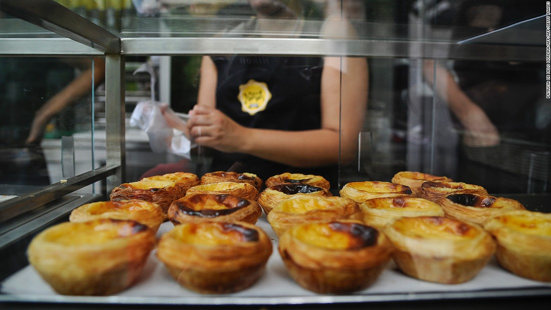 The cinnamon-sprinkled custard tarts invented by monks in Lisbon's Belem district may be the country's most iconic pastries.