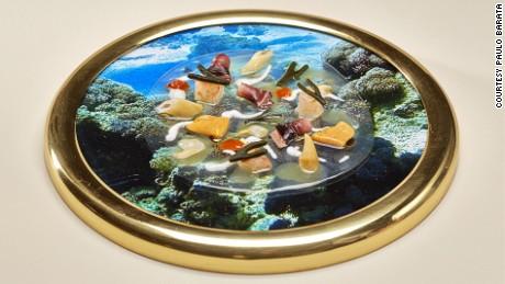 "Belcanto's ""The Bottom of the Ocean"" dish."