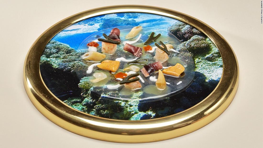 A modern interpretation of Portuguese food by Lisbon's star chef Jose Avillez.