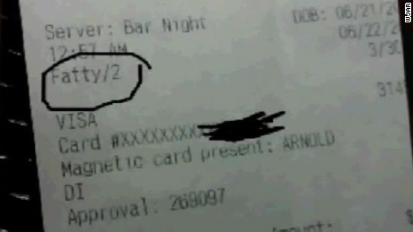restaurant owner fires son for offensive receipt dnt_00002307.jpg