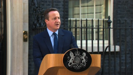 David Cameron announced he would be leaving his role as Prime minister in the aftermath of the UK referendum.