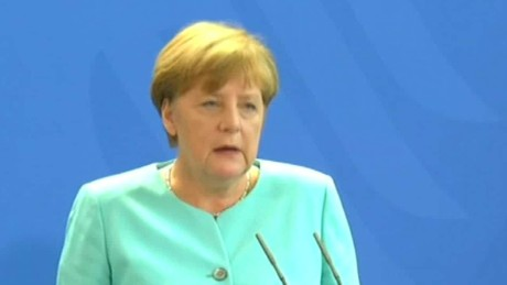 uk referendum brexit vote Germany merkel reax sot_00000000