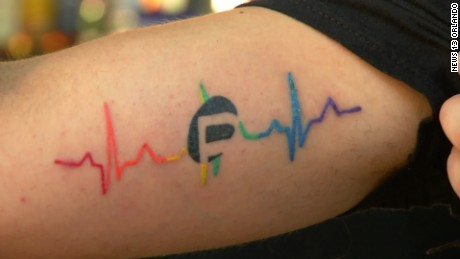 Pulse tattoo
