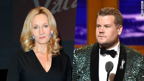 J.K. Rowling, James Corden react to shocking Brexit