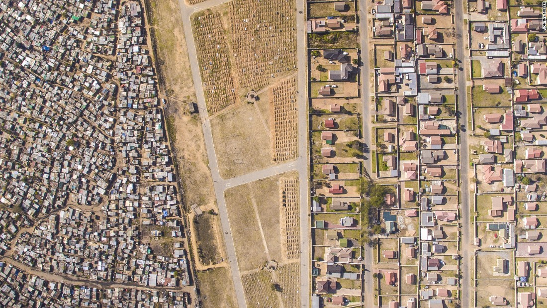 """Miller's photographs will exhibit at Johannesburg's <a href=""""https://www.gibs.co.za/"""" target=""""_blank"""">Gordon Institute of Business </a>in August. He is hoping his work can start a positive conversation about urban planning."""