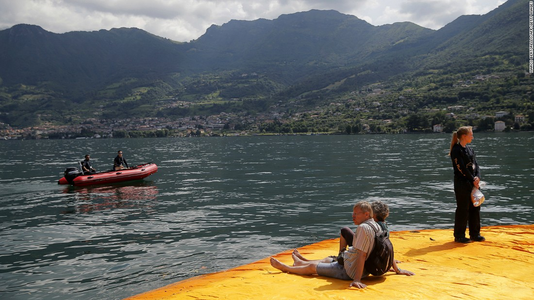 Lake Iseo is located 100 kilometers east of Milan and 200 kilometers west of Venice.