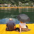 christo floating piers 7
