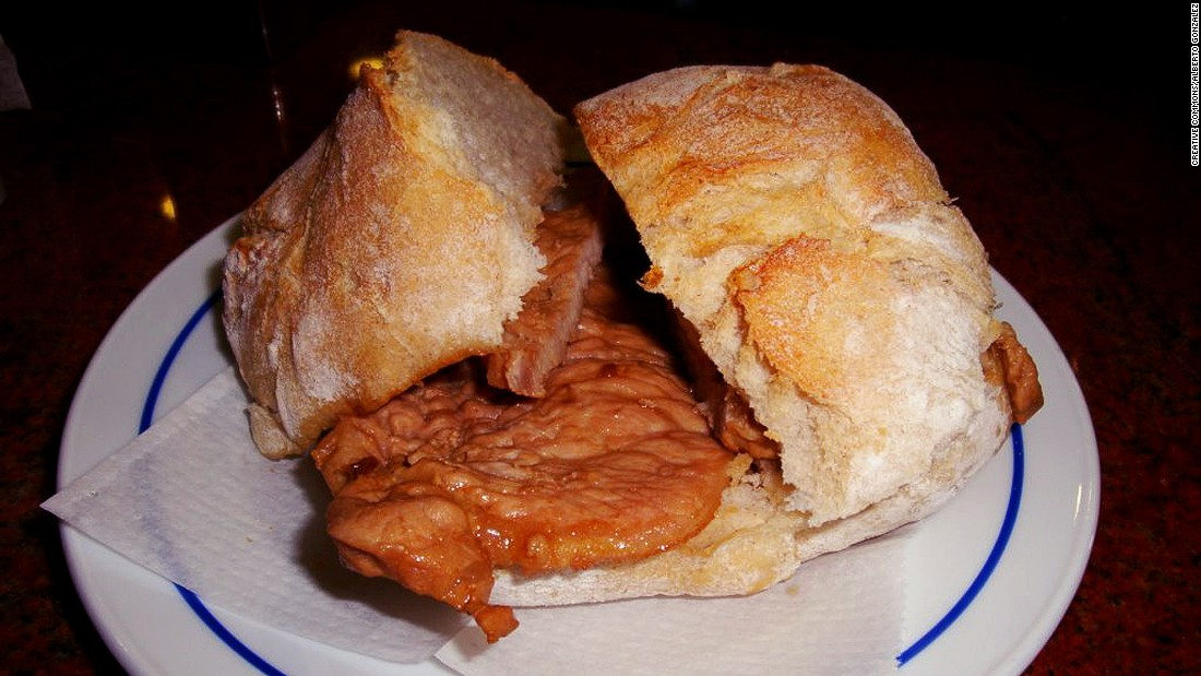 The crispy and juicy Portuguese pork sandwich (bifana) and steak sandwich (prego) are Portugal's snacks of preference.