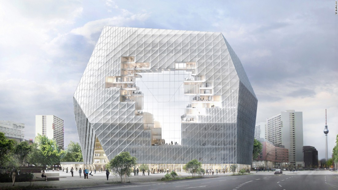 The 'Collaborative Cloud' was designed as the new headquarters for one of the largest digital publishing houses in Europe and consists of flexible and informal work spaces.