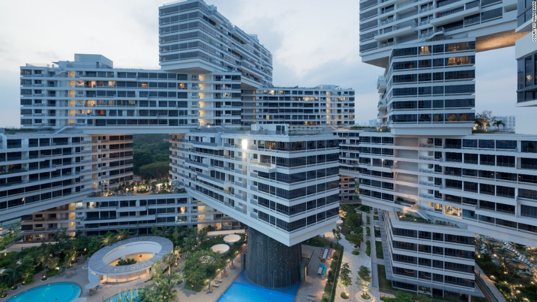 The Interlace, a residential complex n Singapore, was named World Building of the Year at the World Architecture Festival in 2015.