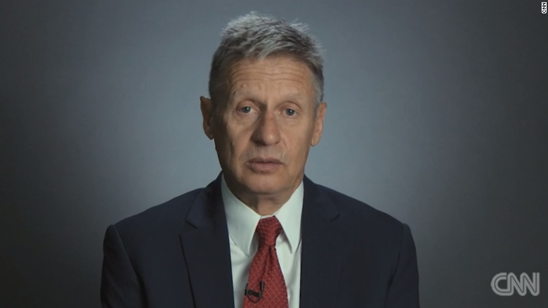 Gary Johnson corrects record: He only biked 485 miles