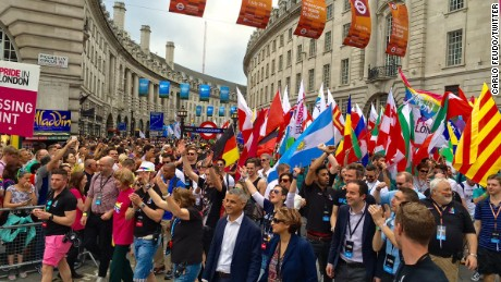 London, New York celebrate Pride after Orlando shooting