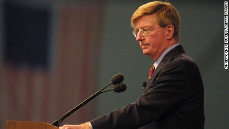 Syndicated Columnist George Will speaks during the 18th Annual Borton, Petrini & Conron, LLP's Bakersfield Business Conference on October 12, 2002 in Bakersfield, California.