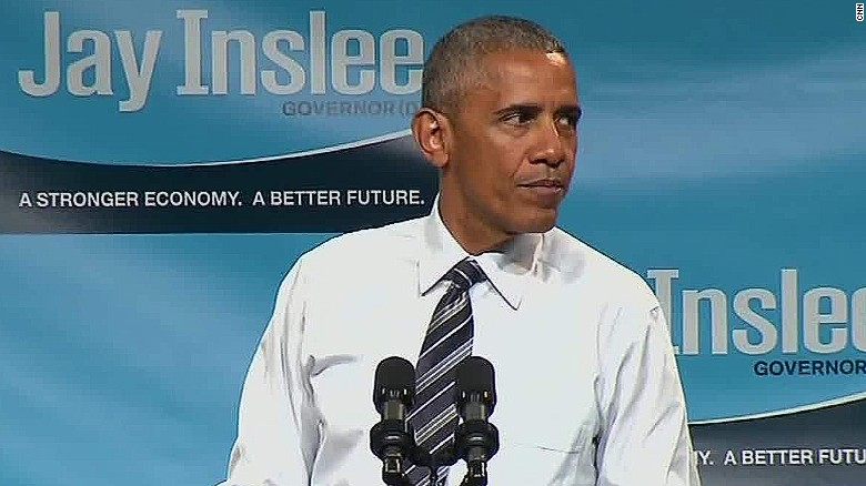 Obama on Trump: 'We don't have time for bigotry'