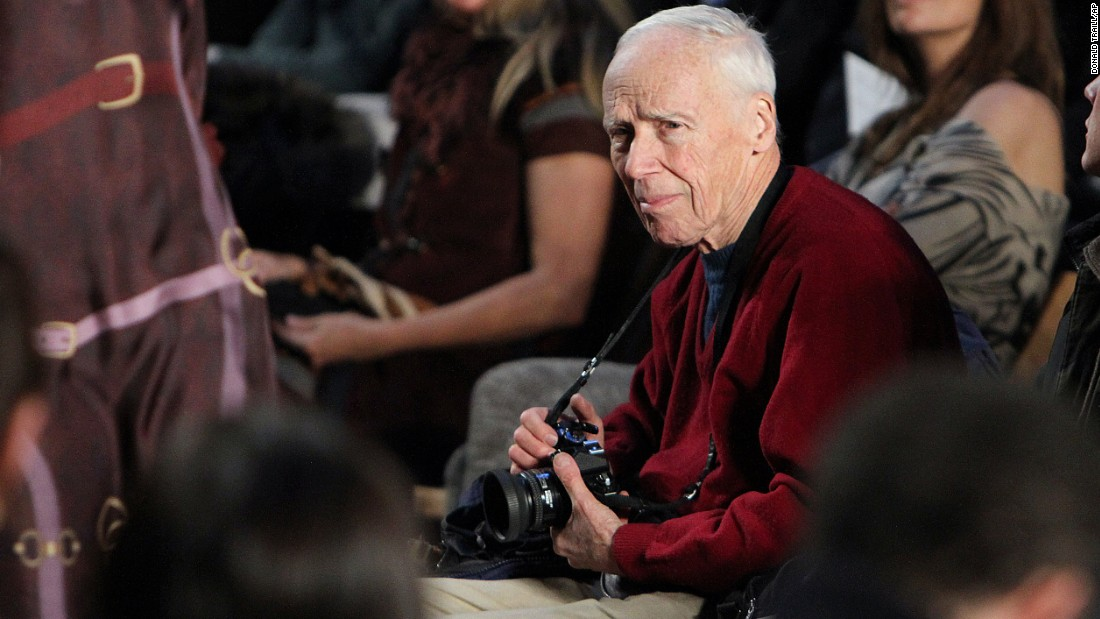 "<a href=""http://money.cnn.com/2016/06/25/media/bill-cunningham-ny-times-fashion-photographer-dies/index.html"">Bill Cunningham</a>, a fashion and street photographer died Saturday, June 25. He was 87."