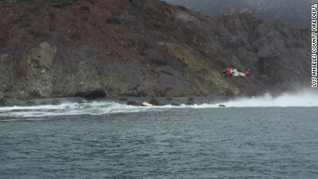 L.A. County Sheriff's Dept. investigates capsize off Catalina Island that left three people dead