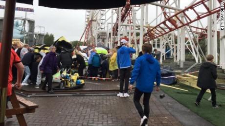 Roller coaster crash Scotland 2