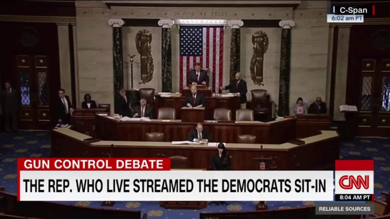 How the Democratic sit-in was live-streamed_00015508
