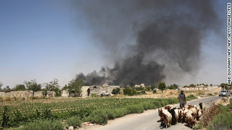 US-led airstrikes in Syria kill civilians, groups say