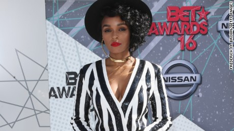 LOS ANGELES, CA - JUNE 26:  Singer Janelle Monae attends the 2016 BET Awards at the Microsoft Theater on June 26, 2016 in Los Angeles, California.  (Photo by Frederick M. Brown/Getty Images)
