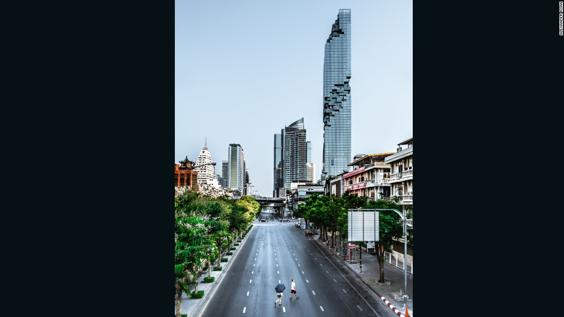 Ole Scheeren's MahaNakhon will be the tallest skyscraper to punctuate Bangkok's skyline when it is completed at the end of the year.