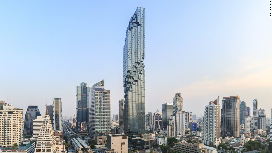Ole Scheeren's daring addition to Bangkok's skyline
