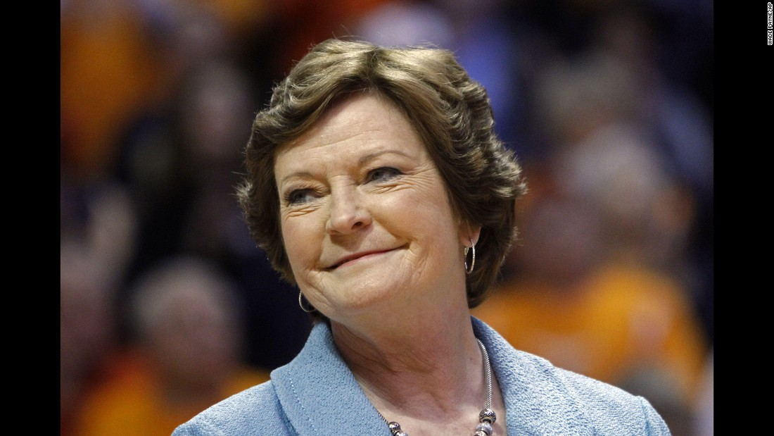 """Pat Summitt, who built the University of Tennessee's Lady Volunteers into a perennial power on the way to becoming the winningest coach in the history of major college basketball, died Tuesday, June 28. Her death came five years after she was diagnosed with Alzheimer's Disease. <a href=""""http://www.cnn.com/2016/06/28/us/pat-summitt-obit/index.html"""" target=""""_blank"""">She was 64.</a>"""