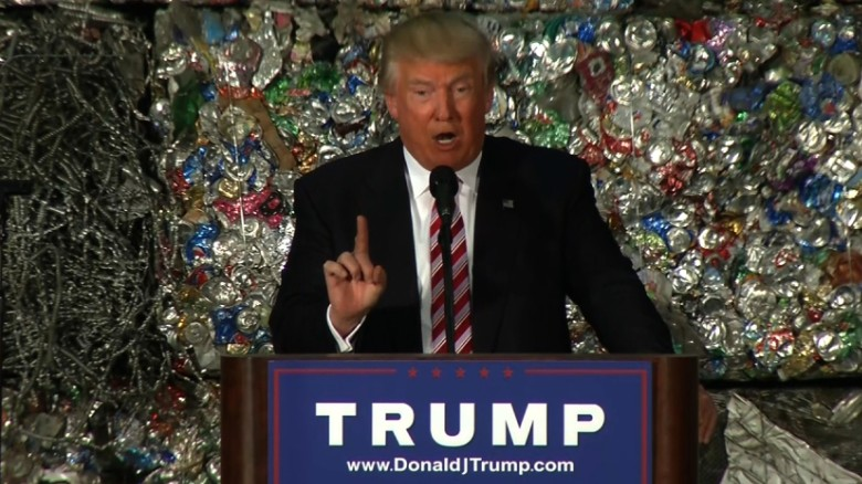 Donald Trump vows to scrap trade deals, threatens China
