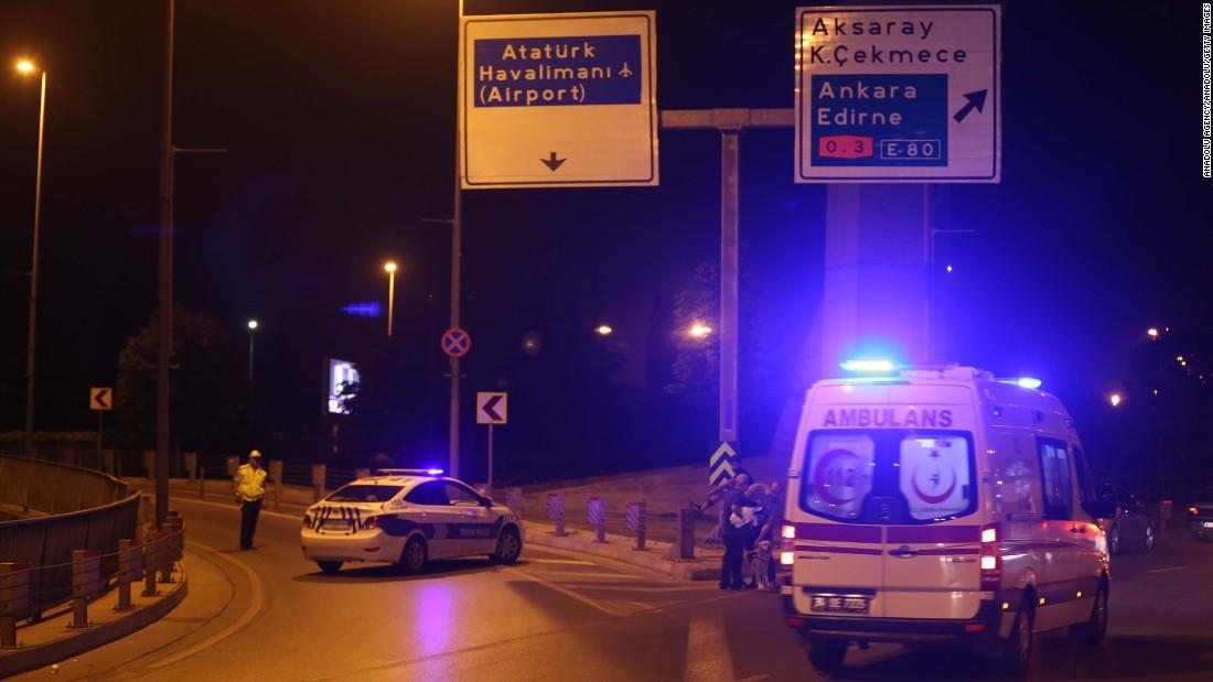 Flughafen Istanbul Explosion