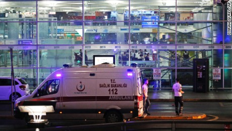Istanbul airport attacked