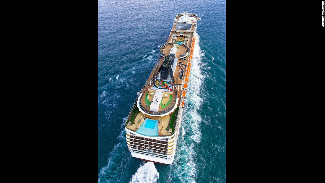 MSC Cruises works with comms provider<strong> Marlink </strong>to create a service that allows passengers to access the Internet and enjoy social media platforms, audio and video.<strong><br />Cost: </strong>Social package from $4.50 per day or $16.50 for entire seven-day cruise. Surfer email, web and social package is $11 per day or $33 for full seven days. Streamer package for heavy internet use capped at at 340MB per day or 1,500MB per cruise -- $22 per day or $66 for seven.