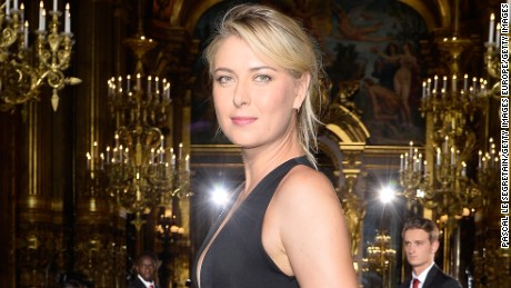 PARIS, FRANCE - OCTOBER 05:  Tennis player Maria Sharapova attends the Stella McCartney show as part of the Paris Fashion Week Womenswear Spring/Summer 2016 on October 5, 2015 in Paris, France.  (Photo by Pascal Le Segretain/Getty Images)
