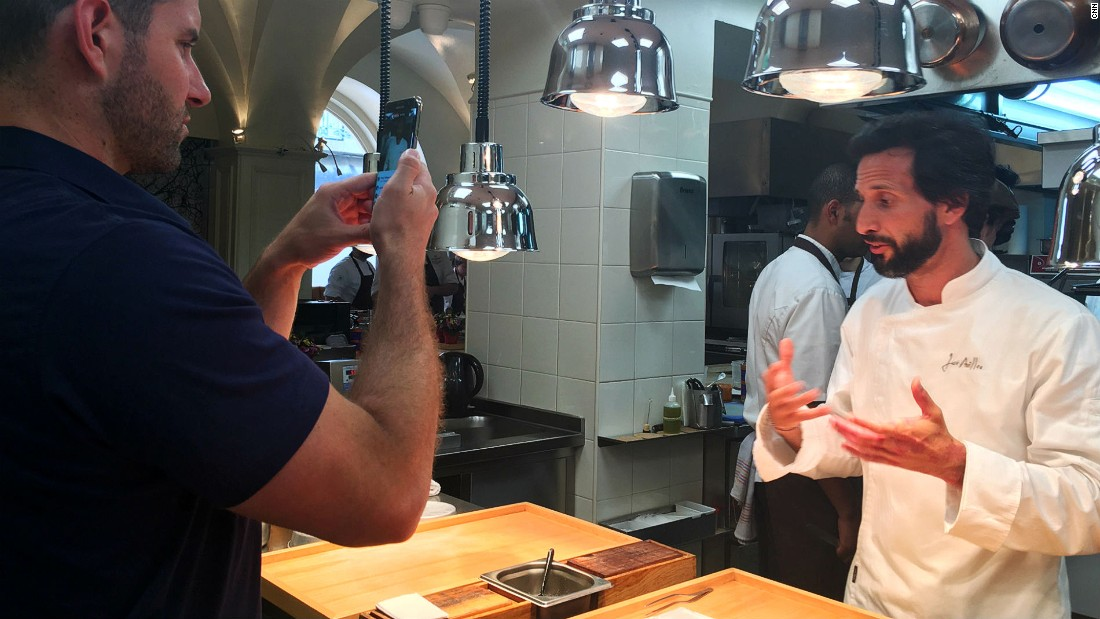 Avillez is determined to present a modern haute cuisine version of Portuguese food to the world.