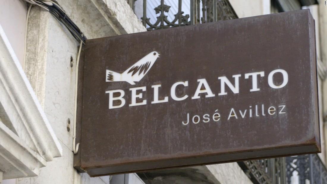 Belcanto is Avillez's most successful establishment so far. It earned a second Michelin star in 2014.