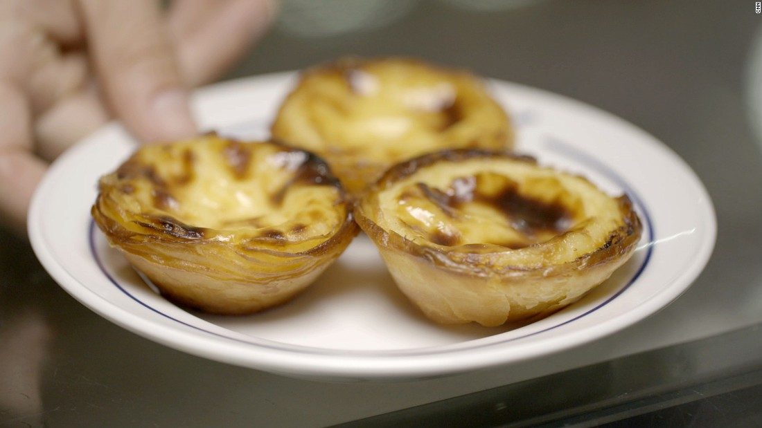 From sardines to custard tarts, Avillez samples Portugal's best culinary icons with CNN.