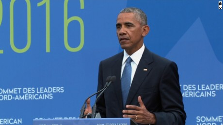 Obama at North American Leaders Summit