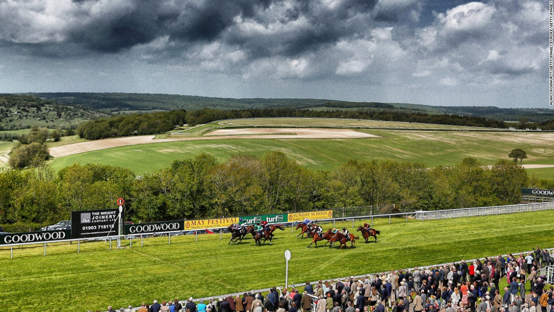 "Goodwood describes itself as ""the world's most beautiful racecourse."""