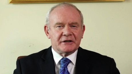 Christiane Amanpour speaks to Martin McGuinness, Northern Ireland deputy First Minister about Brexit, Northern Ireland's place within the EU, the Queen's visit and the future of Europe