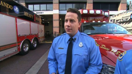 Joshua Granada, Firefighter/Paramedic, Orlando Police Dept.