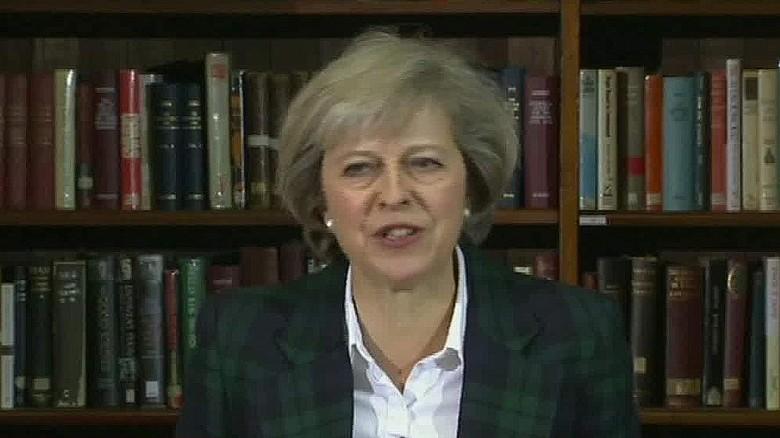 British Interior Minister vies for PM vacancy