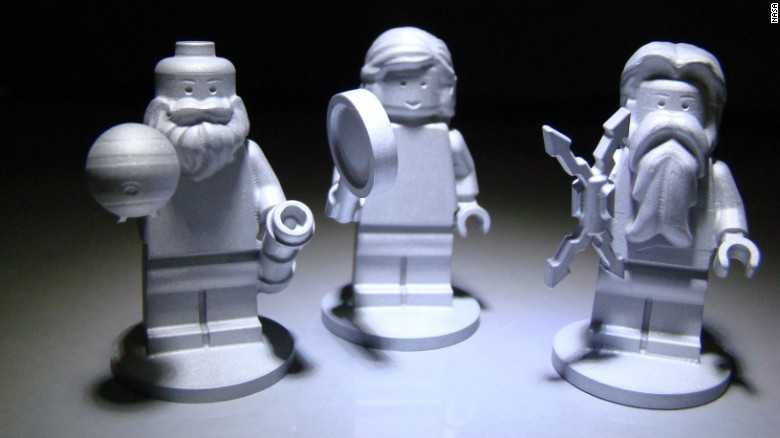 Three Lego figurines are flying aboard the Juno spacecraft. They represent the Roman god Jupiter; his wife, Juno; and Galileo Galilei -- the scientist who discovered Jupiter's four largest moons on January 7, 1610.