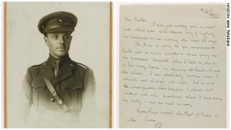 British army lieutenant Percy Boswell was killed in the first hour of the Battle of the Somme on July 1, 1916. He was just 22 years old. Boswell's last letter to his parents was written on 30 June 1916, the evening before he went over the top in the Somme offensive. It was to be forwarded on to them in the event of his death.