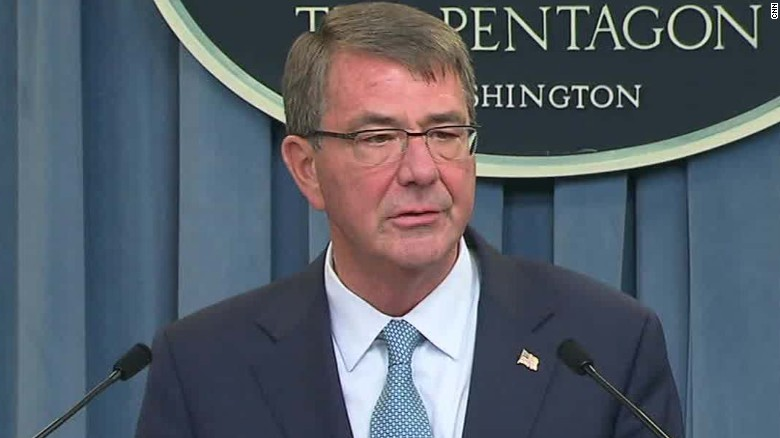 defense secretary carter transgender military policy announcement_00000520