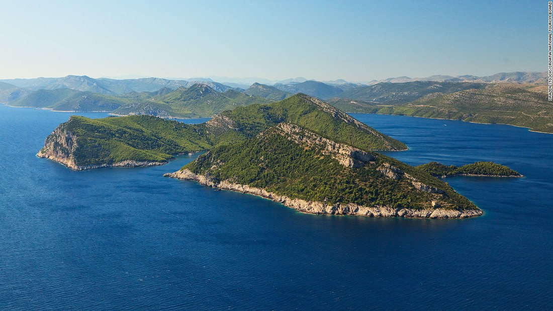 Elafiti Islands, or the Elaphites, are mostly uninhabited. They're easily accessible by ferries from Dubrovnik.