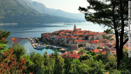 Korcula is the sixth-largest island in the Adriatic Sea.
