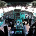 north korean air koryo tupelov tu-154 cockpit