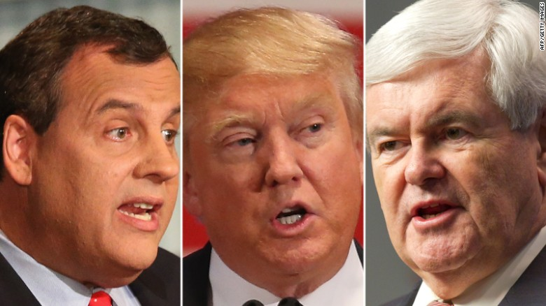 Report: Christie, Gingrich leading Trump VP list