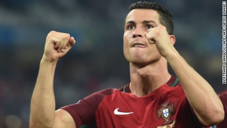 Cristiano Ronaldo and Portugal into semifinals at Euro 2016