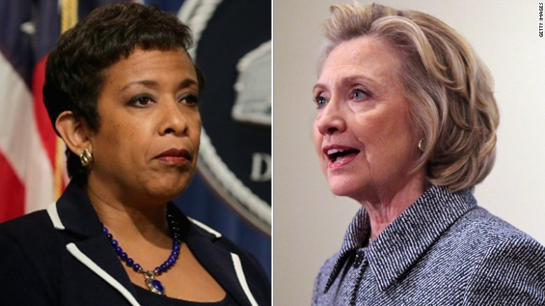 Loretta Lynch: Hillary Clinton will not face charges