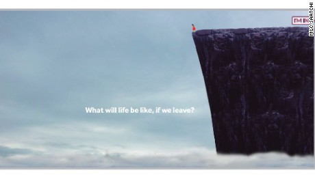 Anit-Leave supporters wonder whether an ad like this may have caused more UK voters to hesitate instead of taking the plunge